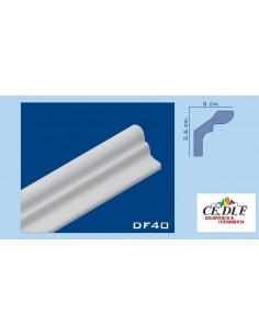 Rahmen aus polystyrol und polystyrol extrudiert 36x30 h.200 ART.DF40