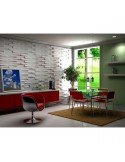 """3D PANEL WALL FOR DECORATION OF WALLS AND CEILINGS MOD. """"FOREST"""" 50X50 CF.1MQ"""