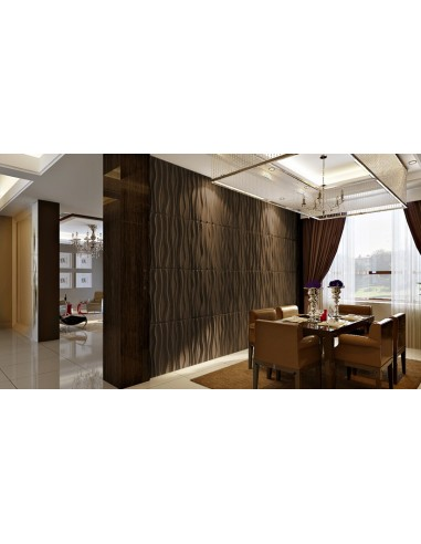 """3D PANEL WALL FOR DECORATION OF WALLS AND CEILINGS MOD. """"FAKTUM"""" 80X60 CF.1 SQM"""