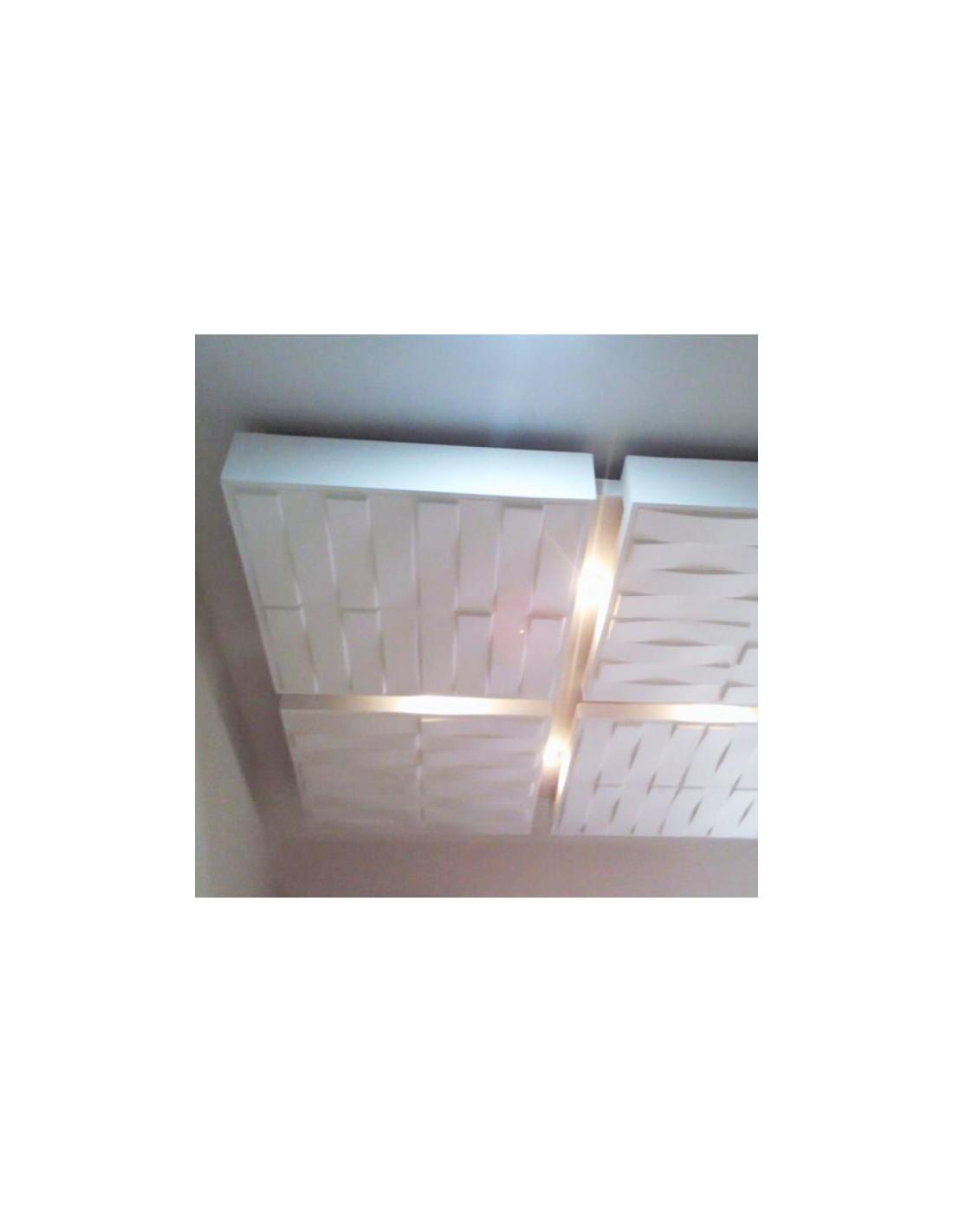 Pannello 3d wall per decorazioni di pareti e soffitti mod for Pannelli in polistirolo per soffitti