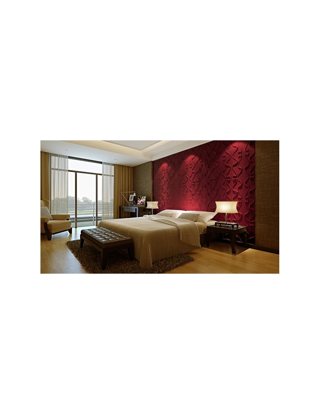 Pannello 3d wall per decorazioni di pareti e soffitti mod gesture 50x50 cf 1 mq - Tavole adesive per pareti 3d ...