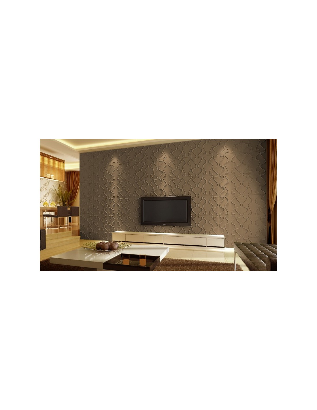 Pannello 3d wall per decorazioni di pareti e soffitti mod gesture 50x50 cf 1 mq - Decorazioni pareti ikea ...