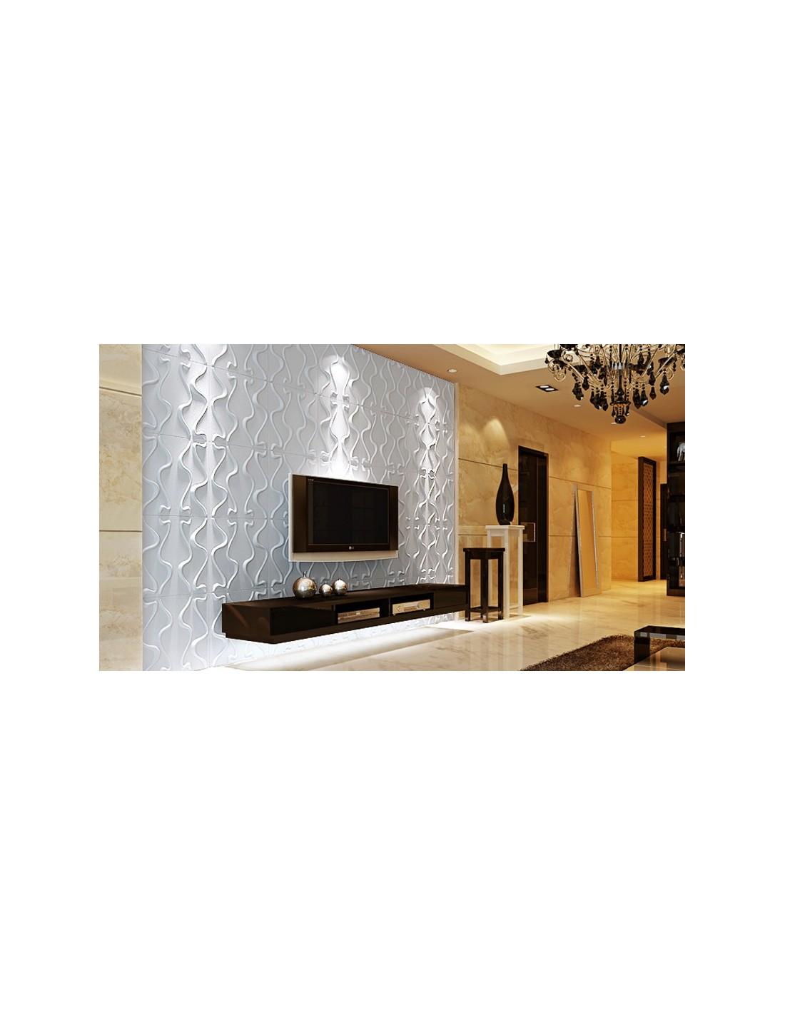 pannello 3d wall per decorazioni di pareti e soffitti mod