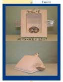 SPOTLIGHT PLASTER 45° ART.5 cm.12 x 12.5 x 7