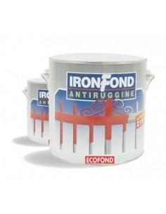 Fondo antiruggine sintetico. Ideale per manufatti ferrosi nuovi o verniciati, garantisce una protezione contro la ruggine