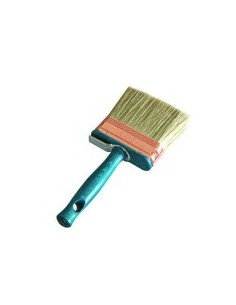 Pure bristle blonde. Lath and wood handle. Ring copper ideal for all types of paints.