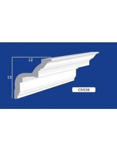 CORNICE IN GESSO CERAMICO DA PARETE Prezzo Riferito A 1,5 MTL N.B. le cornici sono confezionate da cm.75 ART.938