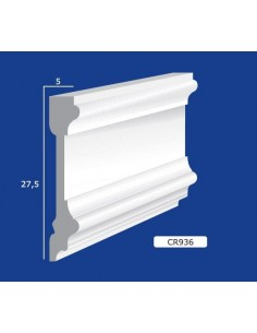 FRAME PLASTER CERAMIC WALL INTERIOR PAINTABLE 936 ROD 1.5 MT