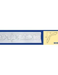 CORNICE IN GESSO CERAMICO DA PARETE Prezzo Riferito A 1,5 MTL N.B. le cornici sono confezionate da cm.75 ART.204