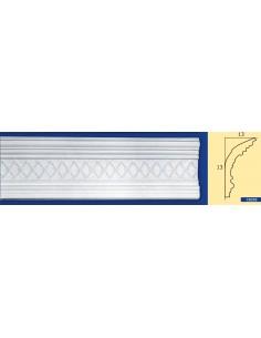 CORNICE IN GESSO CERAMICO DA PARETE Prezzo Riferito A 1,5 MTL N.B. le cornici sono confezionate da cm.75 ART.205