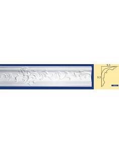 CORNICE IN GESSO CERAMICO DA PARETE Prezzo Riferito A 1,5 MTL N.B. le cornici sono confezionate da cm.75 ART.212