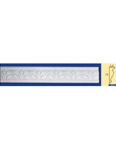 CORNICE IN GESSO CERAMICO DA PARETE Prezzo Riferito A 1,5 MTL N.B. le cornici sono confezionate da cm.75 ART.215