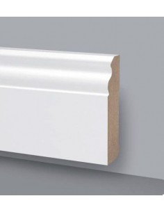 SKIRTING board MDF LACQUERED WOOD PRICE AUCTION Mt.2,4 DUCALE 140X18