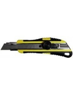 Cutter rubberized Professional with a jog wheel and a steel blade H Blade 18mm