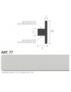 FRAME PLASTER CERAMIC WALL INTERIOR PAINTABLE 201 Rod from mt.1,5