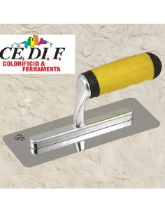 Stainless Steel Trowel Polished Trapezoidal, Rounded