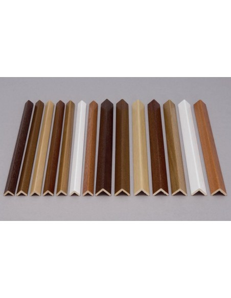 Paraspigolo Mt.3 Pvc Foam reproduce with high fidelity the colors and effects of wood