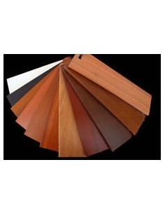 Skirting Mt.2 Pvc Foam reproduce with high fidelity the colors and effects of wood