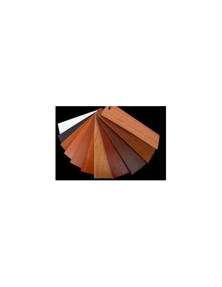 Battiscopa Mt.2 in Pvc Espanso riproducono con la massima fedeltà i colori e gli effetti del legno