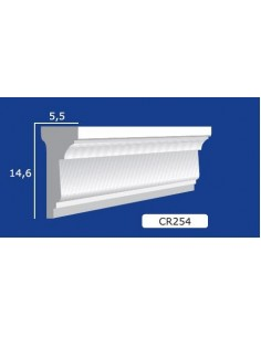 FRAME PLASTER CERAMIC WALL INTERIOR PAINTABLE 254 Rod from mt.1,5