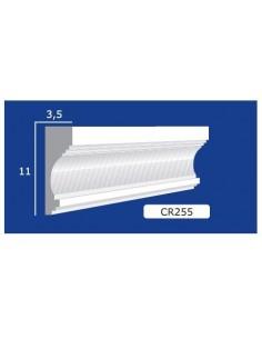 CORNICE IN GESSO CERAMICO DA PARETE 255 Prezzo Riferito A 1,5 MTL N.B. le cornici sono confezionate da cm.75