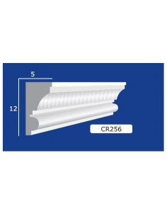 FRAME PLASTER CERAMIC WALL INTERIOR PAINTABLE 256 Rod from mt.1,5