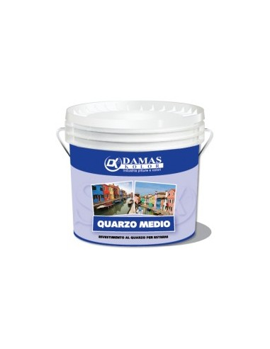 Painting made of quartz, Lt. 14, for exteriors, with good hiding power and high resistance to atmospheric agents.