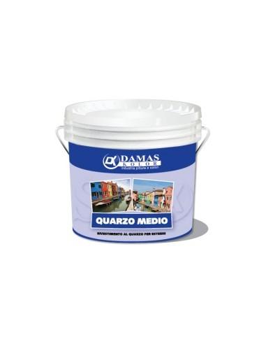 Pittura a base di quarzo per esterni, con ottimo potere coprente e notevole resistenza agli agenti atmosferici.