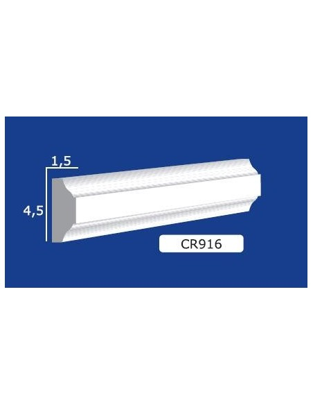 FRAME PLASTER CERAMIC WALL INTERIOR PAINTABLE 916 Rod from mt.1,5