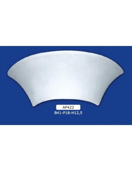 APPLIQUE FOR INTERIOR PLASTER CERAMIC PAINTABLE ART. 422