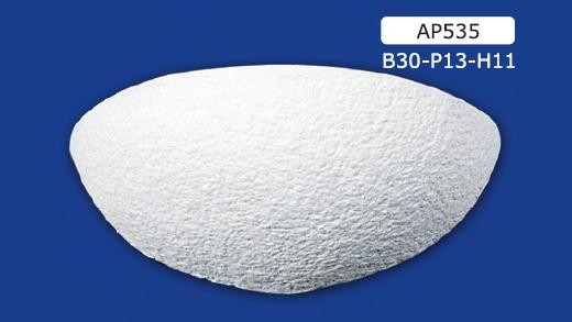 Applique per interni in gesso ceramico verniciabile art. 535