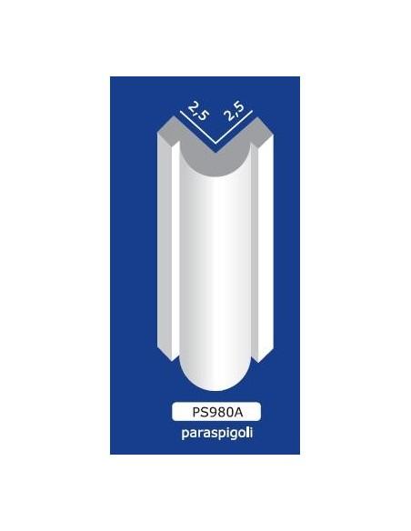 PARASPIGOLO IN GESSO CERAMICO VERNICIABILE ART. 980A