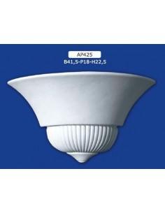 APPLIQUE FOR INTERIOR PLASTER CERAMIC PAINTABLE ART. 425